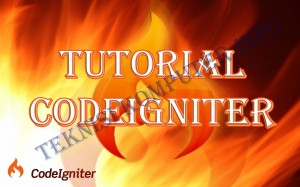 tutorial-codeigniter